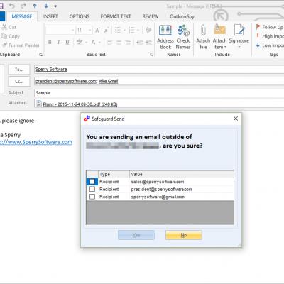 Safeguard Send Grid screenshot