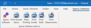 Auto Print Pro now has 5 toolbar buttons