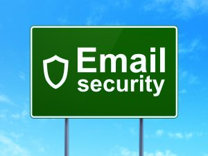 Email Security Highway Sign